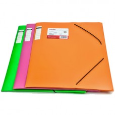 Folder with elastic bands A4