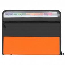 Briefcase folder, A4, 12 pockets