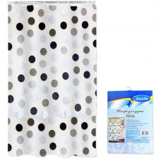 Bath curtain 180x180cm Peva